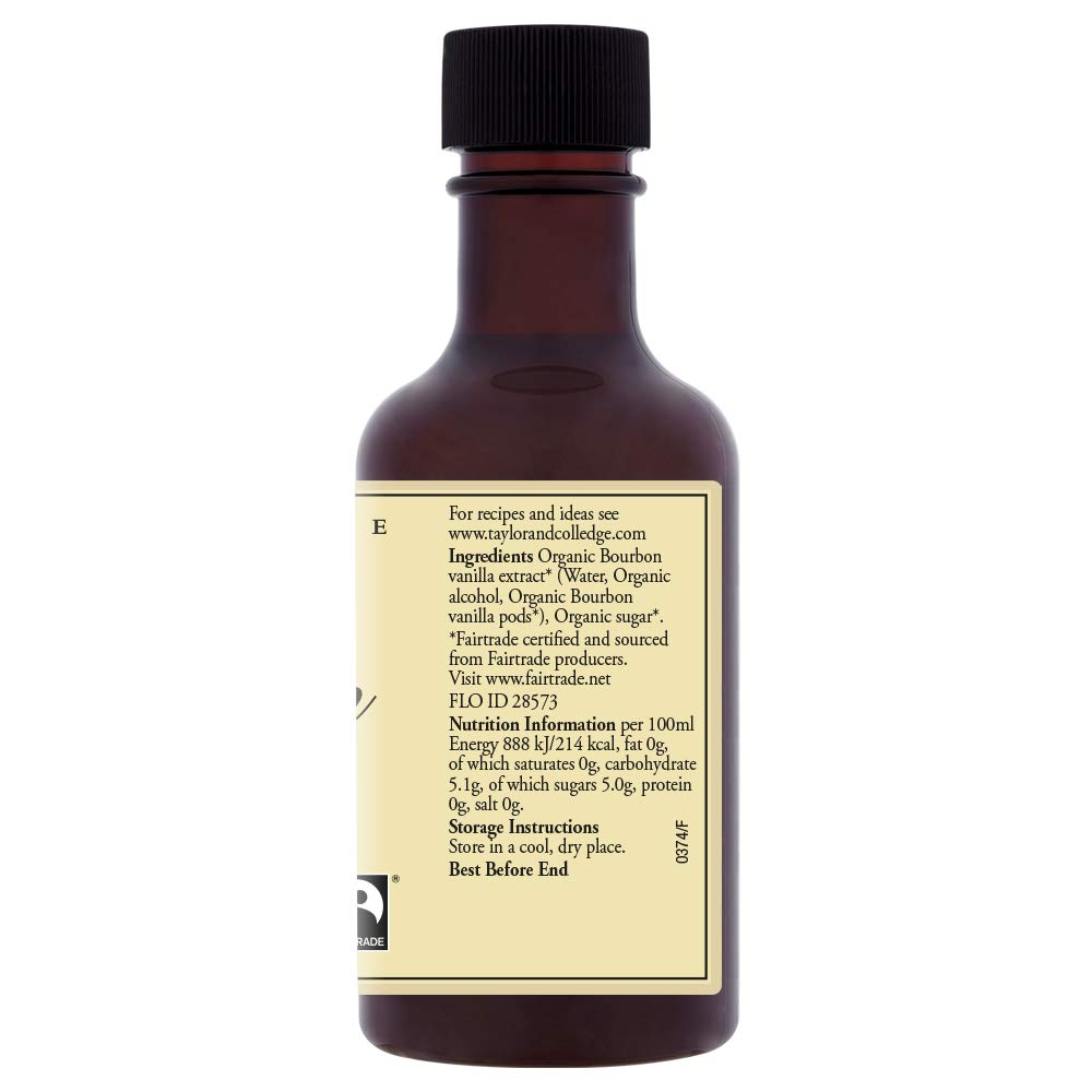 Taylor and Colledge Queen Vanilla Bean Extract 100 ml (Pack of 3)