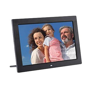 SEXTT Marco de Imagen Digital, 12 Pulgadas HD LCD Digital Foto Marco Pantalla Ancha Alta