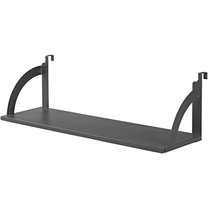 36quotW Hanging Shelf Black For 1 3 4quot Partition