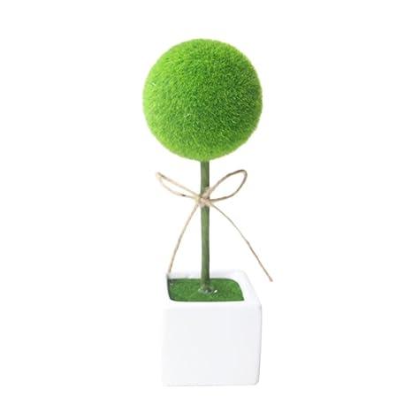 Gaddrt - Jarrón de Flores y Coronas Artificiales, Ideal para decoración del hogar