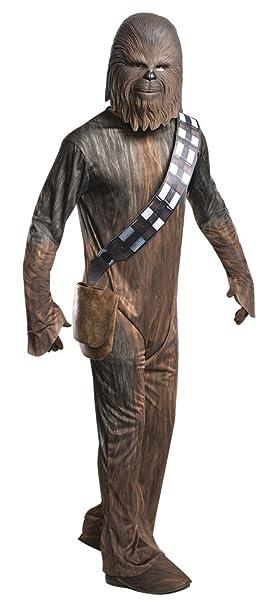 Rubies Disfraz de Star Wars para Hombre Chewbacca Wookiee 3 Piezas Marrón - XL