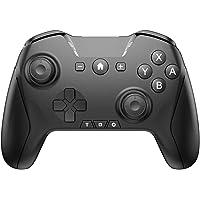 Controlador para Switch Pro, Controlador sem fio para Switch Remote Gamepad com Joystick, Vibração Turbo ajustável…