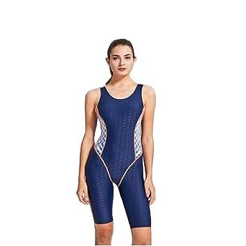 Bestseller einkaufen neue sorten am besten kaufen PHINIKISS Wassersport Knielang Bademode Einteiler Schwimmanzug Damen Sport  Badeanzug