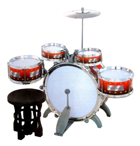 jazz-drum-set-with-chair-music-toy-instrument-for-kids-10-pc