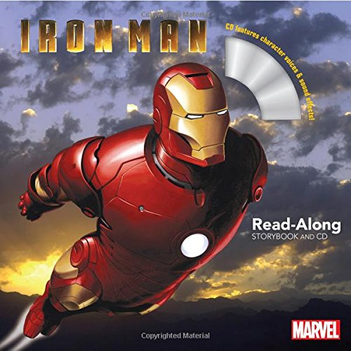 Iron Man Read-Along Storybook and CD (The Iron Man Story)