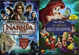 The Chronicles of Narnia Prince Caspian ,The Little Mermaid Ariel's Beginning : Walt Disney 2 Pack Collection
