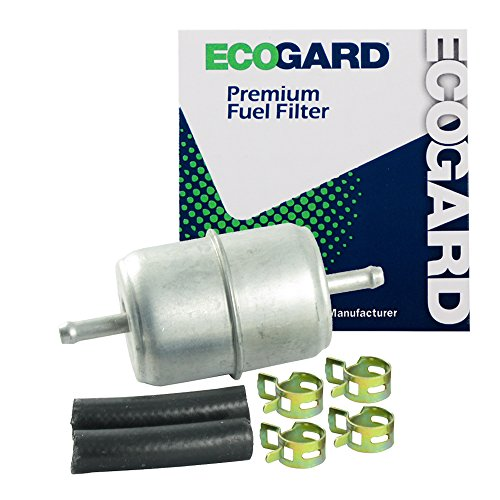 "Duster 1974 Plymouth Engine (ECOGARD XF33031 Small Engine Fuel Filter – 1/4"" or 5/16"" Line - Fits Lawn Mowers 