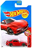 mazda rx7 hot wheels - Hot Wheels 2017 Then and Now Mazda RX-7, Red
