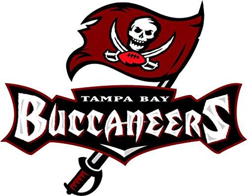 Tampa Bay Buccaneers NFL Football Sport Art Decor Vinyl Sticker 14'' X 11'' ()