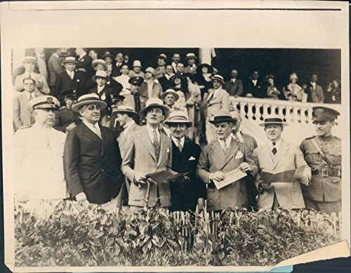 1927 Photo Mayor James Walker John McEntee Bowman Jockey Club Flynn