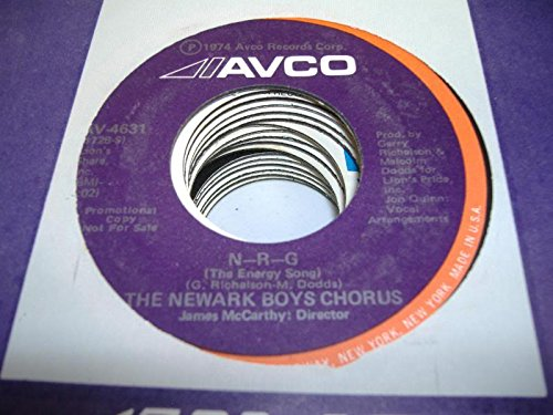 THE NEWARK BOYS CHORUS 45 RPM N-R-G / - Mall Newark De