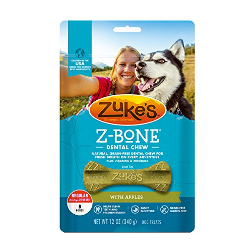 - Zuke's Z-Bone Dental Chew Dog Treats