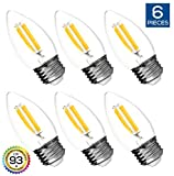Best Tip Bulbs With Medium Bases - Hyperikon LED Edison Blunt Tip Filament B11 Candle Review