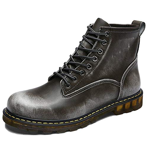 Pelle Pelle Adulti in Stivali Classici per Scarpe Primavera Stivali Uomo retr Autunno Doc Boots Marten Stivaletti Alte E Classica Xaq181