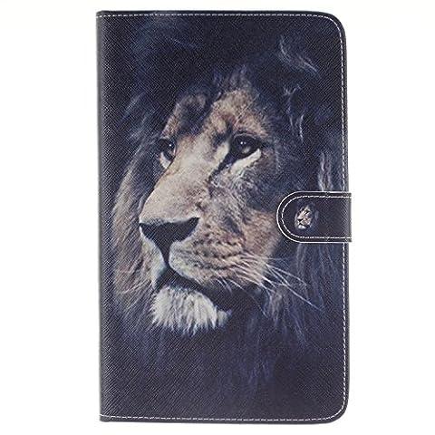 Tab E 8.0 case, Easytop Ultra Slim Lightweight Standing Folio Wallet Style Cover Case for Samsung Galaxy Tab E 8.0 inch SM-T377V/P/R 4G LTE - Verizon/Sprint/US Cellular - Juicy Full Diamond