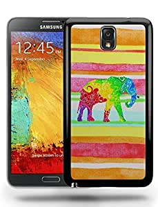 Aztec Tribal Space Elephant Hipster Pattern Phone Case Cover Designs for Samsung Galaxy Note 3