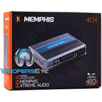 Memphis MXA480.4M 4-Channel 480W RMS Class-D Marine Amplifier