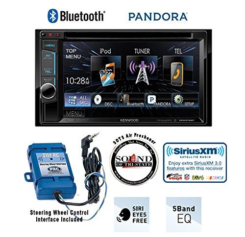 Kenwood DDX372BT In Dash Double Din 6.2