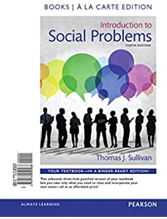 Introduction to social problems 10th edition thomas j sullivan introduction to social problems books a la carte edition 10th edition fandeluxe Image collections