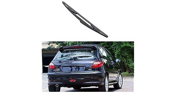 Arichtop Parabrisas del coche de la ventana trasera Brazo del limpiaparabrisas lámina para el Peugeot 206 1998-2009 Auto Parts duraderos: Amazon.es: Coche y ...