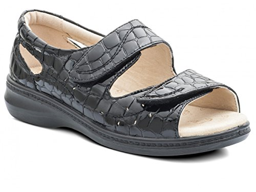 Men Walking For Padders Sandals Nero dtvwqa