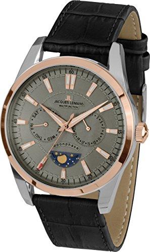 Jacques Lemans Liverpool Moonphase, Men's Wristwatch