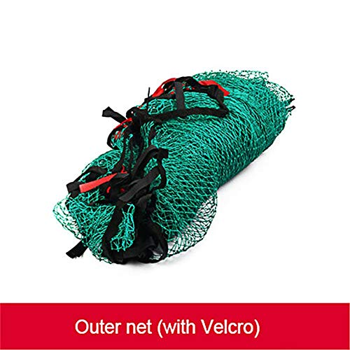 Greencolorful Golf Outdoor Practice Net,Golf Outdoor Large Multi-Sport Hitting Net,Portable Golf Cage Trainer Netting Stimulator for Backyard Indoor - Multi Sport Cage Net