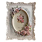 Giftgarden 4x6 Inch Oval Picture Frame for Wedding Gifts