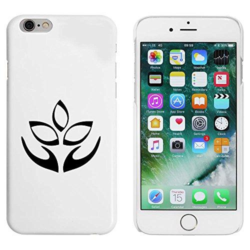 Blanc 'Fleur de Lotus' étui / housse pour iPhone 6 & 6s (MC00087835)