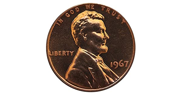 Penny SMS UNCIRCULATED *FREE SHIPPING* 1967 Lincoln Memorial Cent