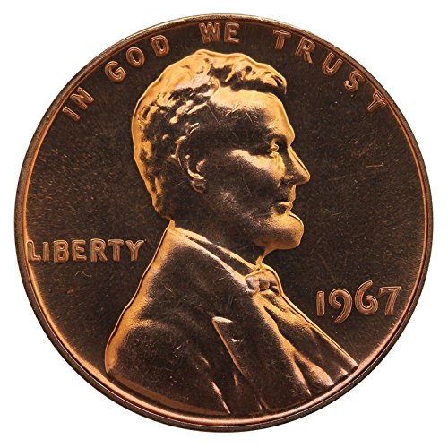 1967 Gem Special Mint Set SMS Lincoln Memorial Cent Penny Uncirculated US - Lincoln Cent Mint Set Issue