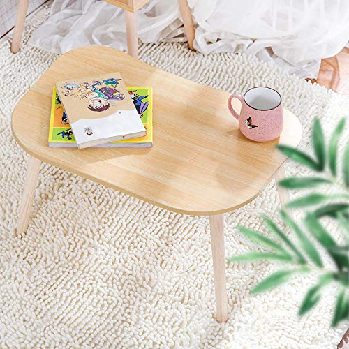 Computer Desk Clearance , Solid Wood Legs Bed Desk Living Room Laptop Table Bay Window Leisure Table by Little Story