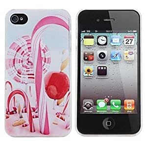 Lollipop Painting Pattern Hard PC Case for iPhone 4/4S