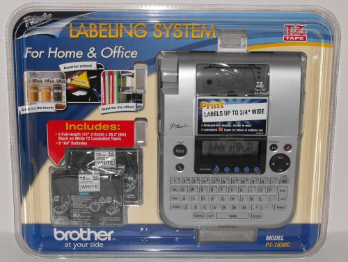 Brother P-Touch PT-1830C Desktop Office Labeling System, Val