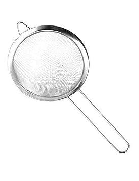 30 de acero inoxidable de malla de mano de cocina tamiz ...