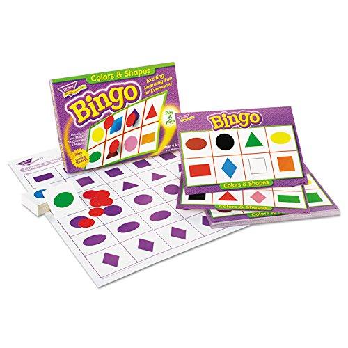 最新作の Trend Up Enterprises T-6061 Inc。BINGO Colors & & Shapes Ages 4 & Up T-6061 B00QFXIWI8, ベーグル&ベーグル:95d72165 --- vietnox.com