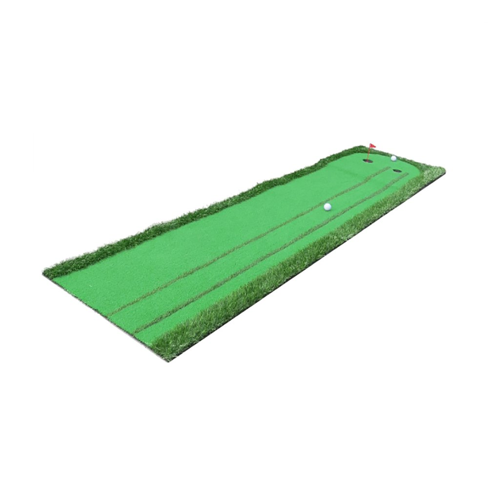 JI BIN USSHOP® ゴルフパットプラクティスマット屋内フェアウェイエクササイズブランケット3メートルロング + (色 : 1#)  1# B07KQTH29G