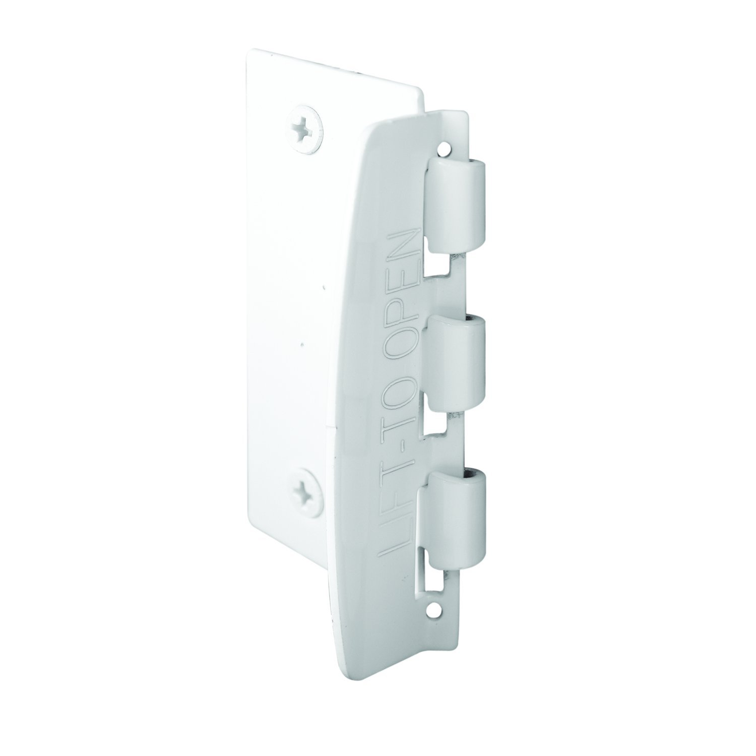 Prime-Line U 9888 Flip Action Steel Door Lock, White Finish
