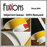 Ultra Premium Textured Canvas For Canon (Semi Matte) 8.5'' x 11'' (50 Sheets)