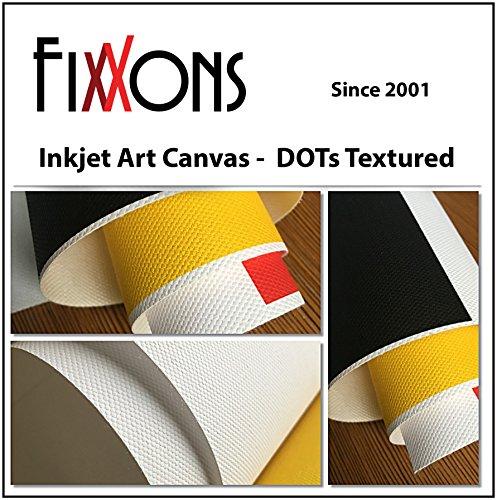 Photo Paper Canvas - Ultra Premium Textured Canvas For Canon (Satin) 8.5