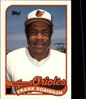 Amazoncom 1989 Topps Baseball Card 774 Frank Robinson