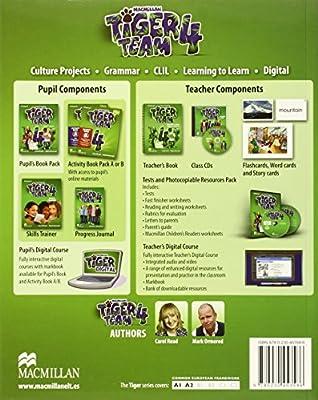 TIGER 4 Ab B Pk 2014 - 9780230475731: Amazon.es: Read, C., Ormerod, M.: Libros en idiomas extranjeros