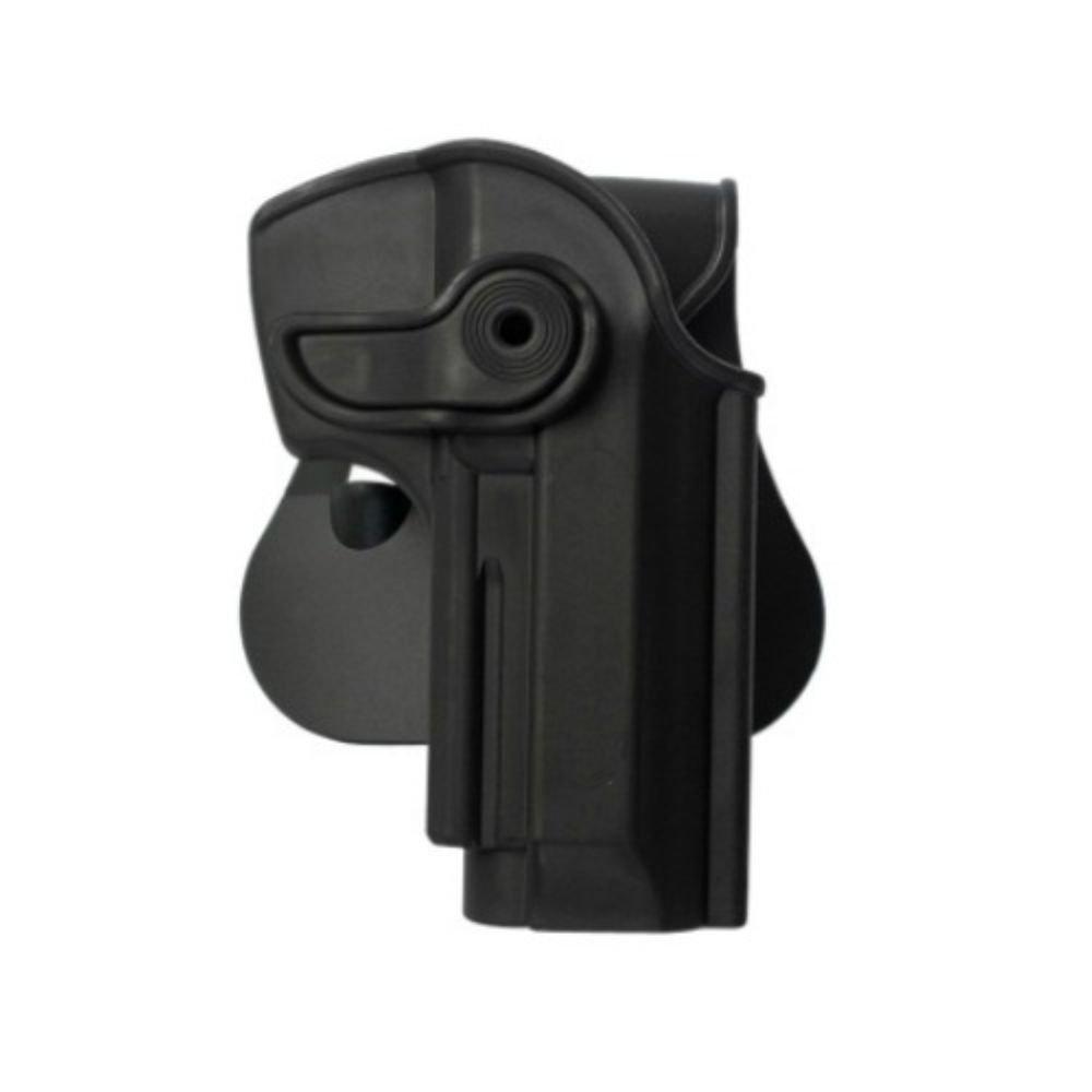 IMI Defense Z1250Tactical Ajustable giratorio giro Pistola Holster para Beretta 92, llama 82& Cheetah FS 85, yavuz de 16Ocultos transporte Polímero Táctica Roto Pistola–Cabestro