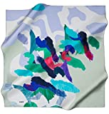 Aker 100% Silk Square Turkish Scarf Islamic Hijab Headscarf Spring 2017 #7291