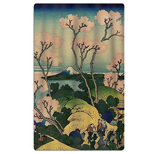 Oversized Jacquard Double Woven Velour Beach Towel Hokusai J
