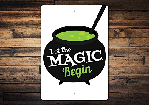 Cauldron Sign Magic Sign Cauldron Decor Magic Decor Halloween Magic Gift Witch Potion Sign Witch Lover Gift Quality Metal 10
