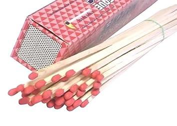 amazon com 500 pack wholesale lot 11 long wooden fireplace matches rh amazon com decorative long fireplace matches long fireplace matches canada