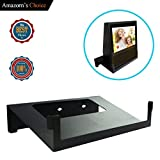 Original Stand Holder Wall Mount Bracket For Show Home Speaker - Change (Camera's) Angle and Protect Your Show Home Speaker Charger Cords Organizor, Easy to Install (Black Solid Metal)