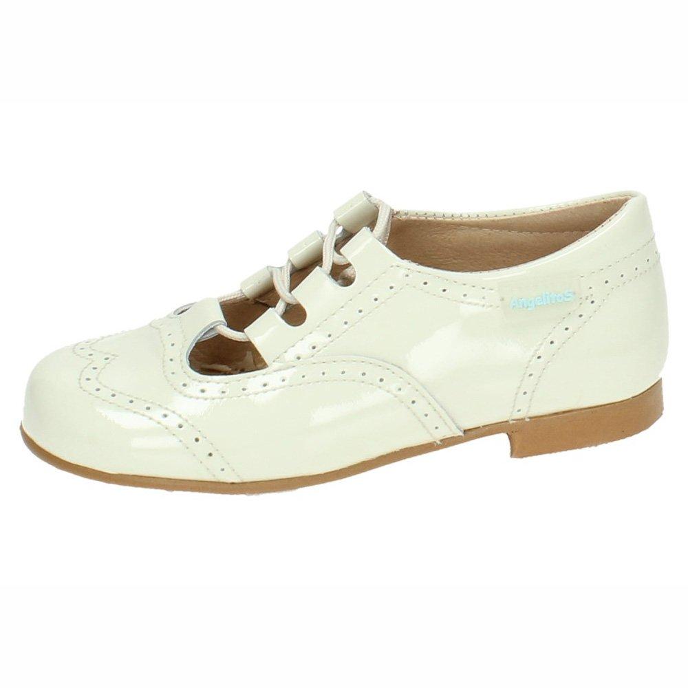ANGELITOS Jungen Loaferschuhe, Weiß - Weiß - Größe: 21