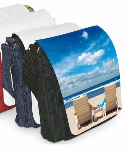 Kleißpatz / Motiv Shoulder Bag Venezia Spiaggia Con Sedie